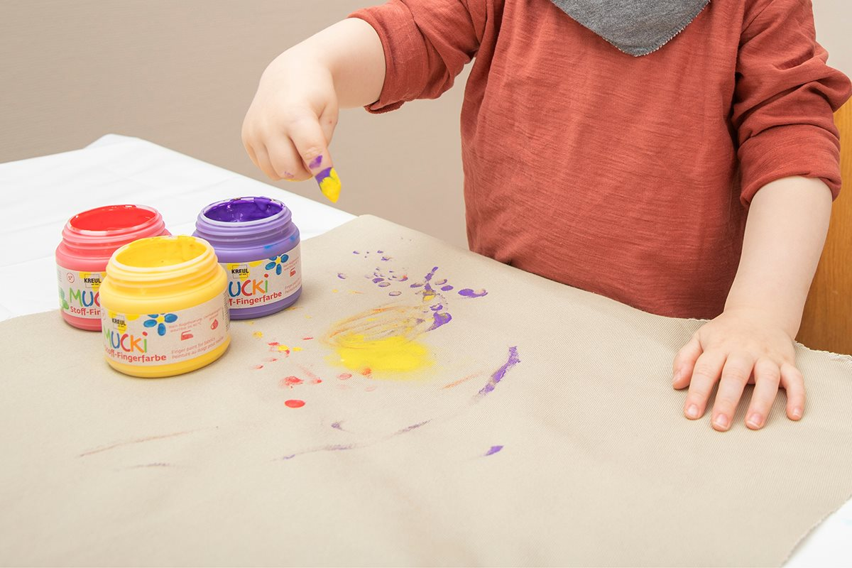 1200X800 Textile Paint For Children